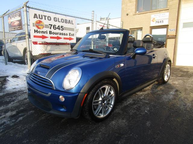 Mini Cooper Convertible 2005 2dr Convertible S, 1.6L SACT 16 soupapes  #18-683