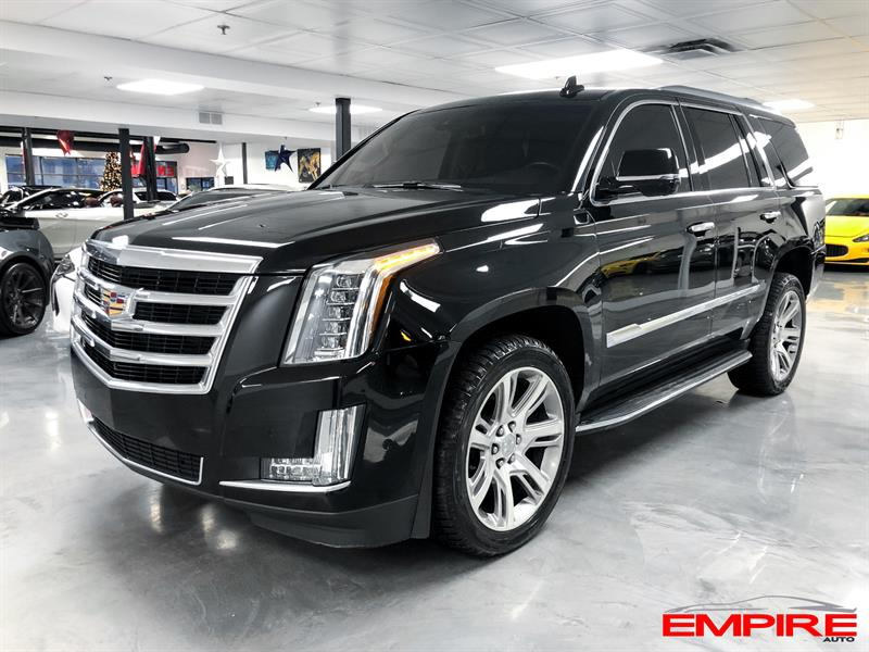Cadillac Escalade 2018 LUXURY TV/DVD TOIT NAV #A6954