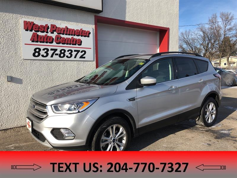 2018 Ford Escape SEL HEATED LEATHER BACKUPCAM NAV PANORAMIC SUNROOF #5488