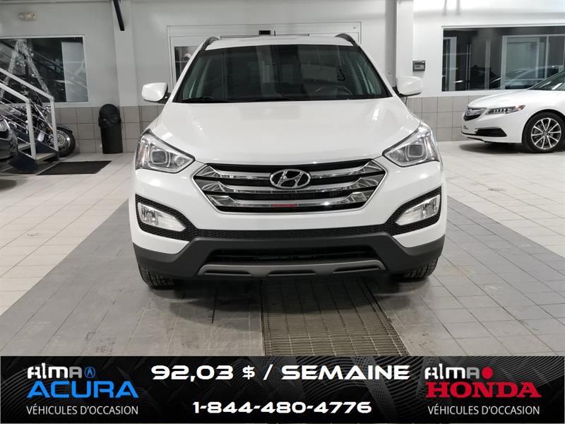 Hyundai Santa Fe AWD 2015 2.0T SE ** GALERIE DE TOIT ET ATTACHE REMORQUE ** #A3236A