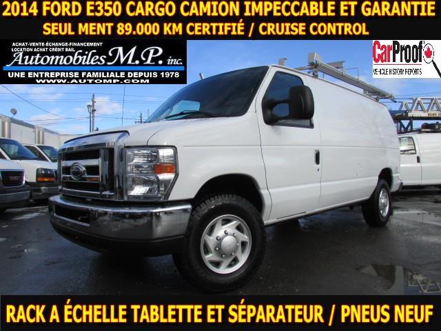 Ford E-350 2014 CARGO 89.000 KM VOIR ÉQUIPEMENT #383