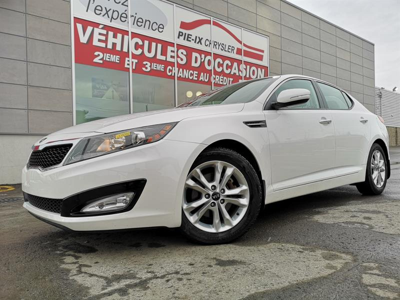 Kia Optima 2013 4dr Sdn Auto+EX+CUIR+MAGS+WOW! #UD5032