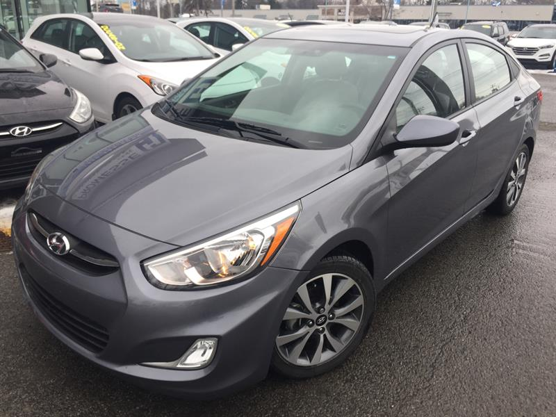 Hyundai Accent 2017 SE TOIT OUVRANT,BLUETOOTH,MAGS+ #A-2777