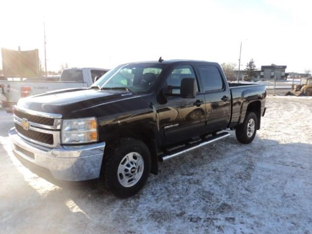 2013 Chevrolet Silverado 2500HD SLE CRew Cab 4x4 short box