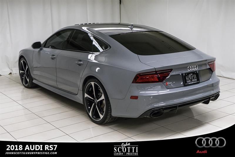 2018 Audi Rs 7 SPORTBACK QUATTRO - Nardo Grey Courtesy for