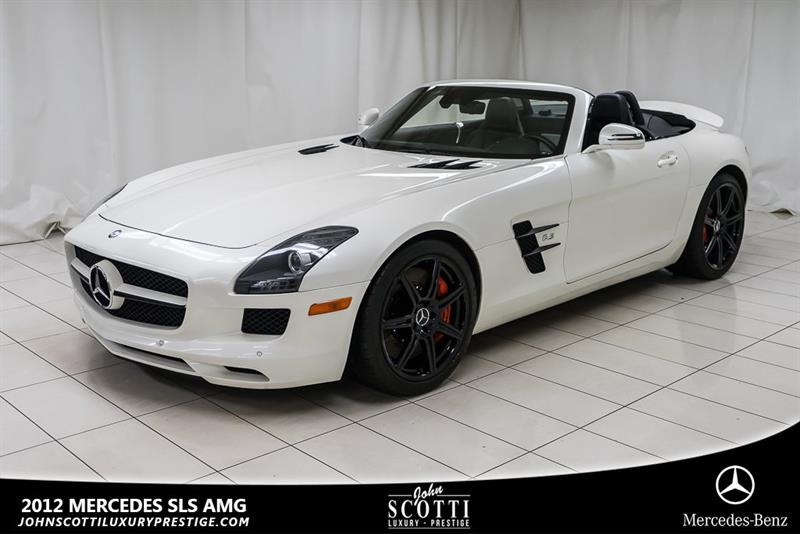 Mercedes-Benz SLS AMG 2012 Roadster #C0363