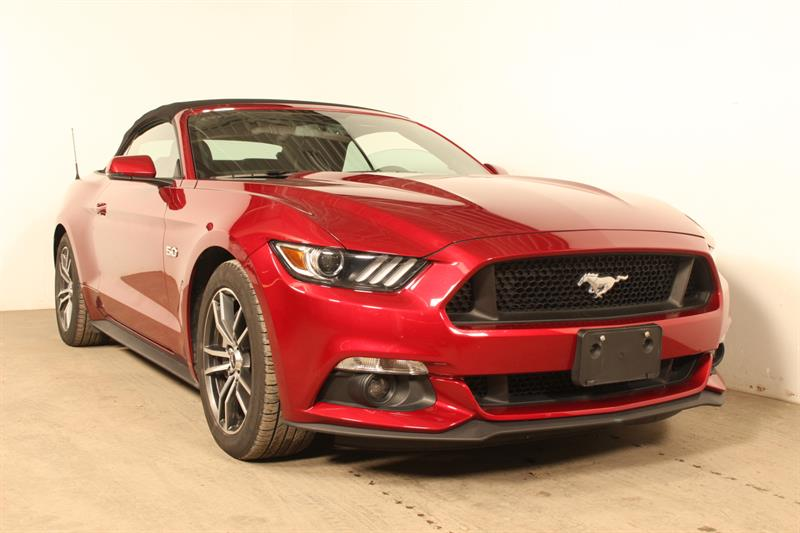 Ford Mustang 2017 CONVERTIBLE GT PREMIUM #90143a