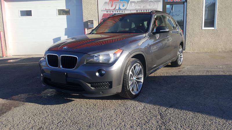 BMW X1 2015 XDRIVE, TOIT,CUIR ROUGE #6324