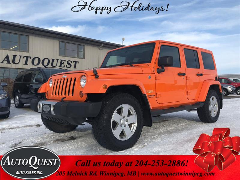 2012 Jeep Wrangler Unlimited Sahara 3.6L 4x4 #9883
