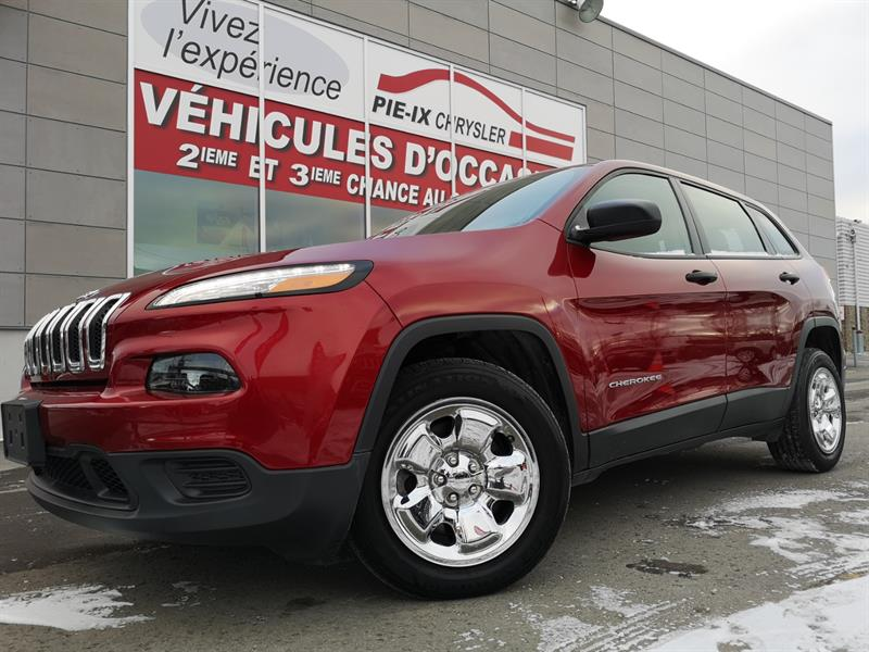 2017 Jeep Cherokee FWD 4dr Sport #UD5044