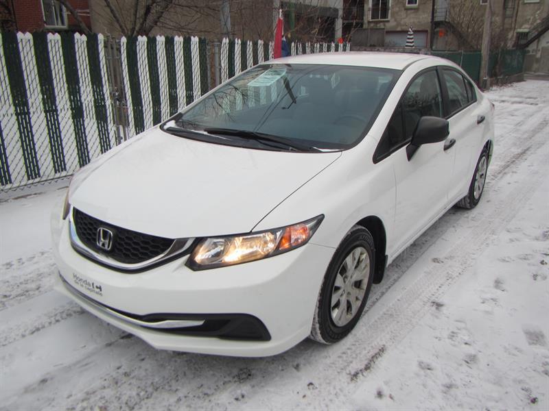 Honda Civic 2013 FINANCEMENT MAISON $39 SEMAINE #S 2062  *CERTIFIÉ*