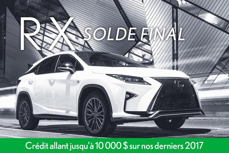 Lexus Rx 2017 #13733