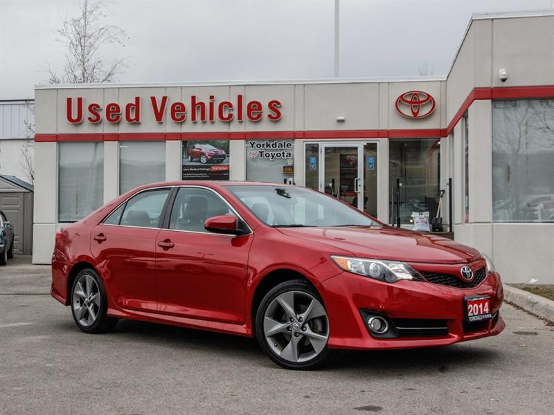 2014 Toyota Camry SE   Navi   Sunroof   R.Cam   H.Seats   B.Tooth #R7802