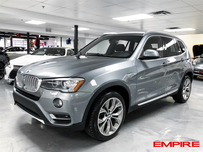 BMW X3 2015 AWD xDrive28D #A7024