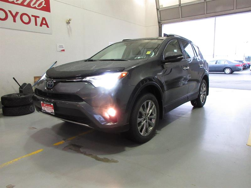 2016 Toyota RAV4 Hybrid AWD Limited with Technology #19976AXH