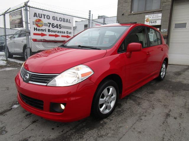 Nissan Versa 2009 5dr HB 1.8SL FE + MAGS,JUPE,TOIT OUVRANT #18-1172