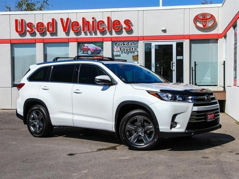 2017 Toyota Highlander Limited   Navi   Leather   Panoroof   R.Cam #P7551