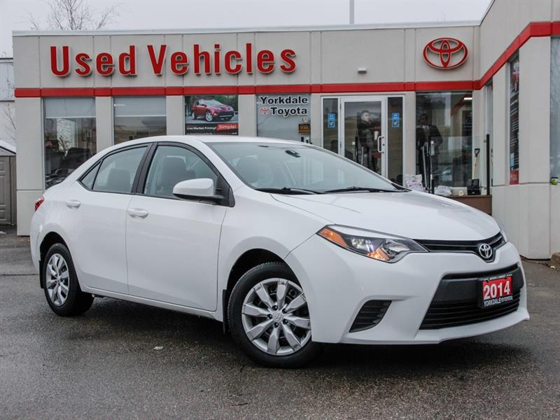 Buy Used Cars Toronto >> Used Toyota Corolla 2013 2014 For Sale In Toronto Yorkdale
