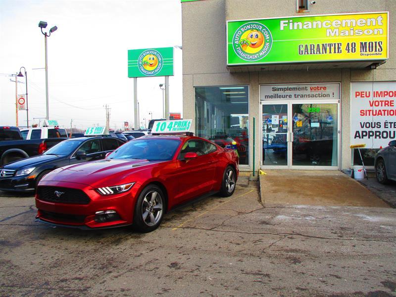 2017 Ford Mustang 2dr Fastback V6 **démarrage&entrée sans clé** #18-195