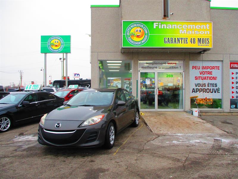 Mazda MAZDA3 2010 4dr Sdn #18-236