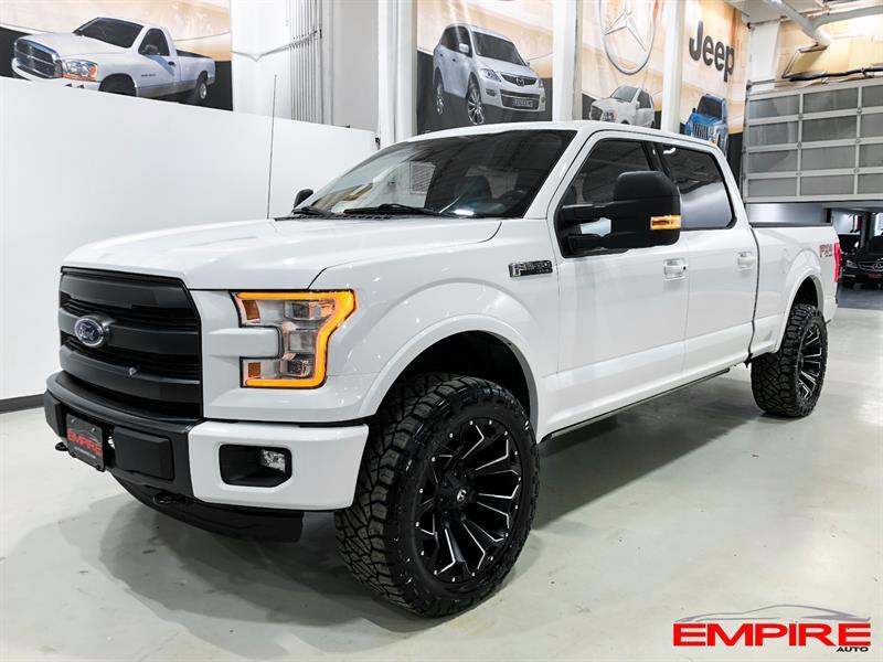 2015 Ford F150 LARIAT FX4 4X4 5.0L 502A #A6944-1