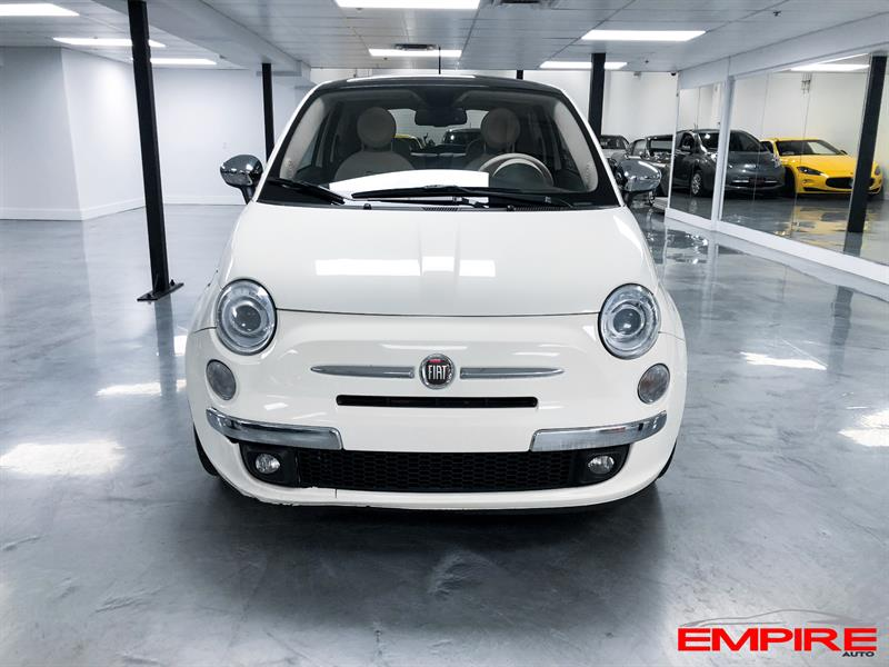 2012 fiat 500 toit ouvrant automatique cuir used for sale. Black Bedroom Furniture Sets. Home Design Ideas