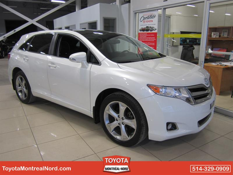 Toyota Venza 2014 XLE AWD V6 CUIR + TOIT  #3455 AT