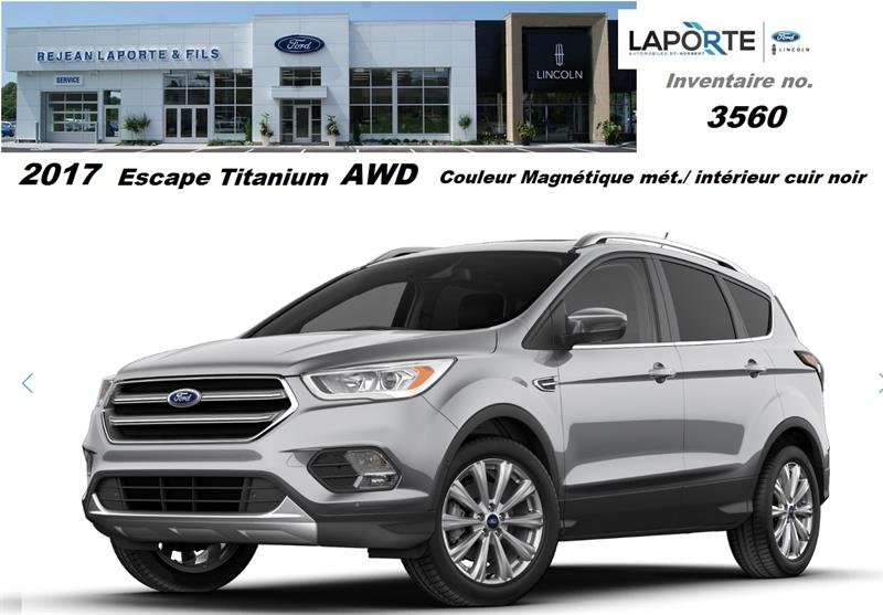 Ford Escape 2017 Titanium #3560