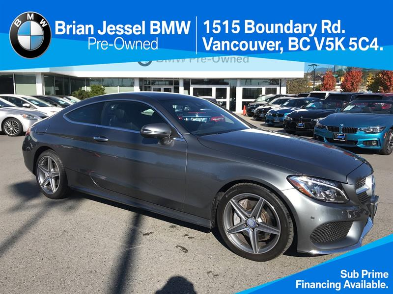 2017 Mercedes-Benz C-Class C300 4MATIC Coupe #BP7165