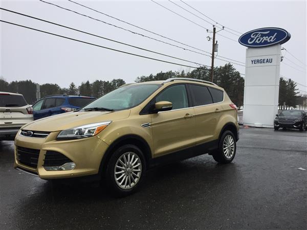Ford ESCAPE TITANIUM**401A**ENSEMBLE TECH**GPS** 2014 #90451A