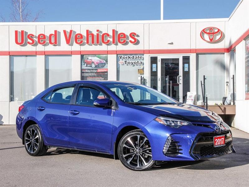 2017 Toyota Corolla SE   Sunroof   Alloys   Adaptive Cruise #P7797