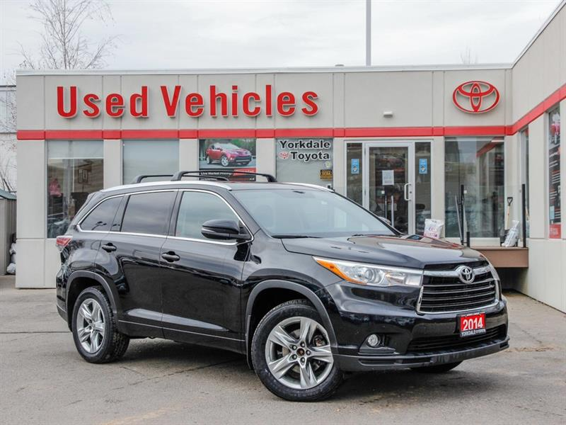 2014 Toyota Highlander Limited   Navi   Leather   Panoroof   R.Cam #L7815