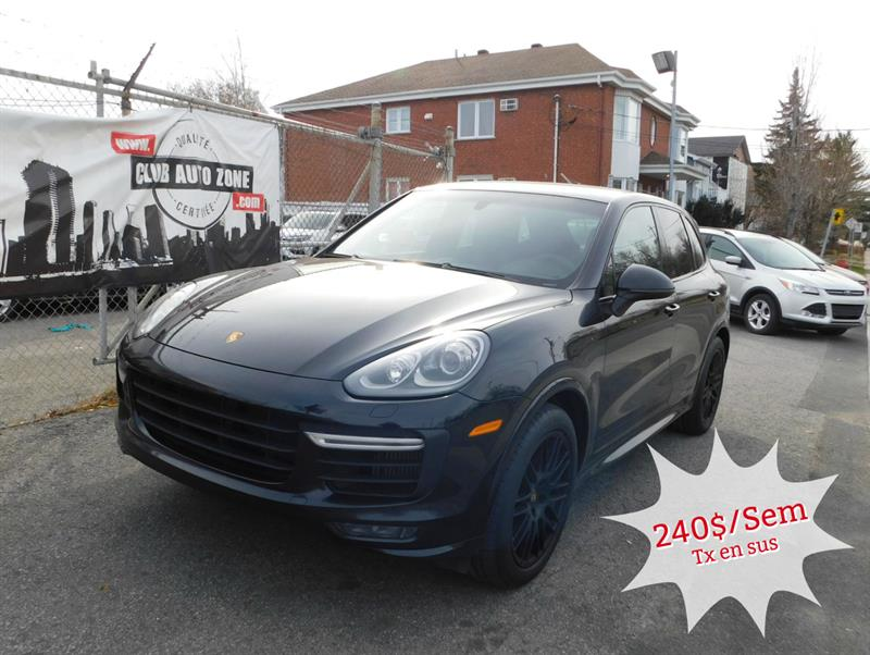 2016 Porsche Cayenne GTS AWD AUTOMATIQUE BLUETOOTH NAVIGATION #GLA73041