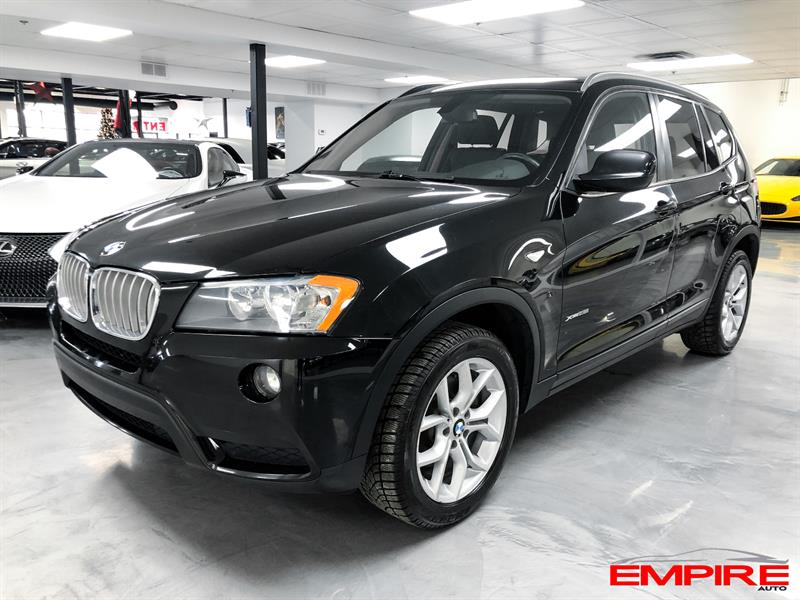 2013 BMW X3 AWD 28i TOIT PANORAMIQUE #A7025