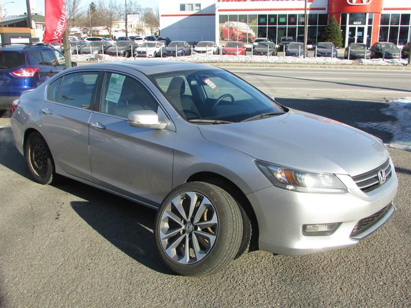 Honda Accord 2015 SPORT AUTOMATIQUE **8 ROUES 8 PNEUS** #UL19618