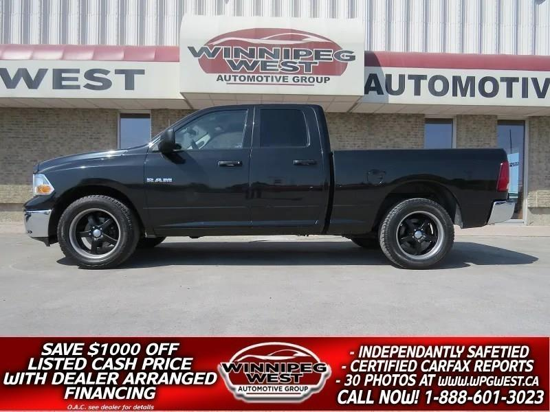 2010 Dodge Ram 1500 BLACK SPORTY 4X4, V8 MAGNUM, SHARP LOCAL TRADE! #GW4191A