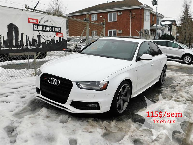 Audi S4 2015 AWD PROGRESSIV AUTOMATIQUE BLUETOOTH #FA057058