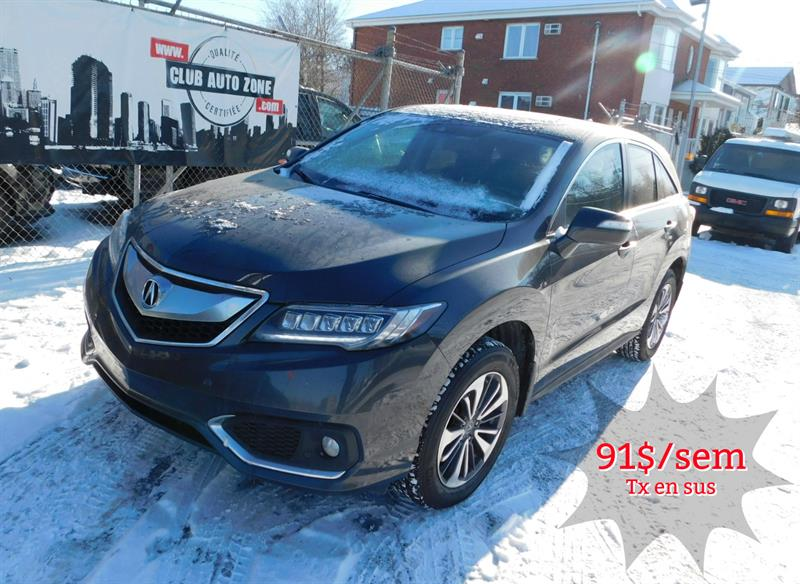 Acura RDX 2016 AWD ELITE PACKAGE NAVIGATION BLUETOOTH #GL806253