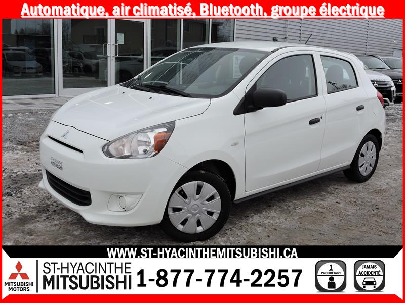 Mitsubishi Mirage ES puiss + 2015 financement 0.9% #17775A