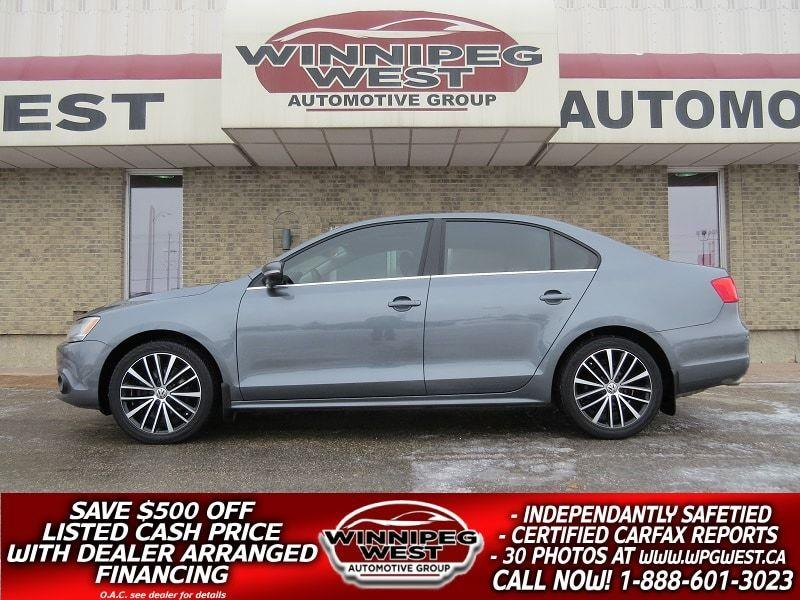 2014 Volkswagen Jetta 2.0 TDI HIGHLINE, HTD LEATHER, ROOF, & MORE! #DW4890