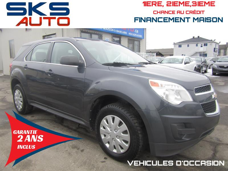 Chevrolet Equinox 2011 LS (GARANTIE 2 ANS INCLUS) FINANCEMENT MAISON #SKS-4269-2