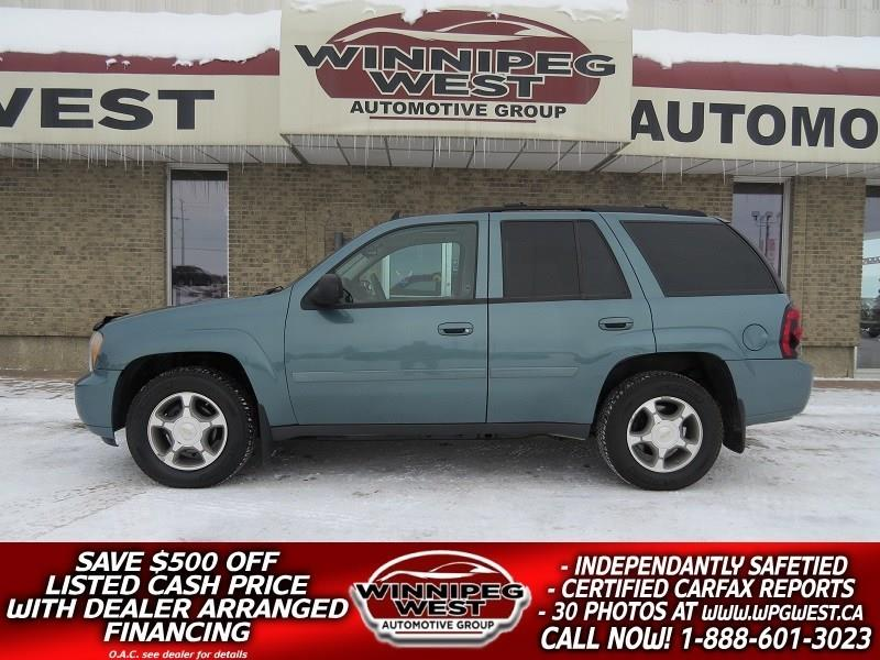 2009 Chevrolet Trailblazer LT 4.2L 6CYL 4X4, POWER SUNROOF, CLEAN & LOW KMS #GNW4904