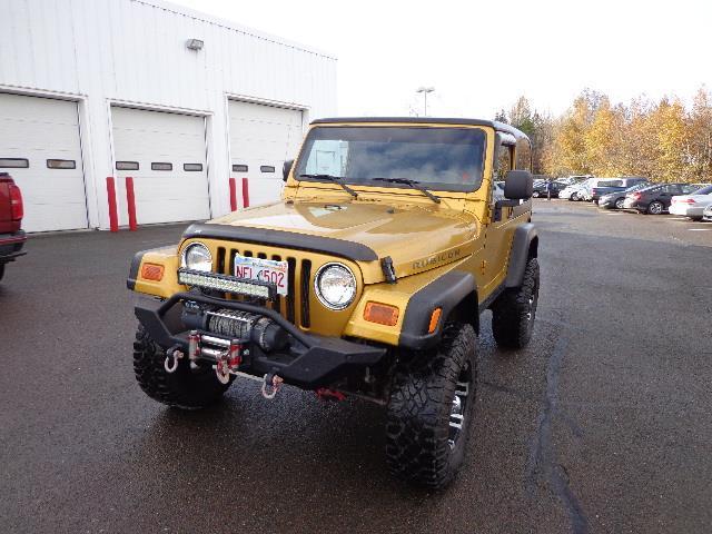 2003 Jeep TJ 2dr Rubicon 4WD #3P338567A