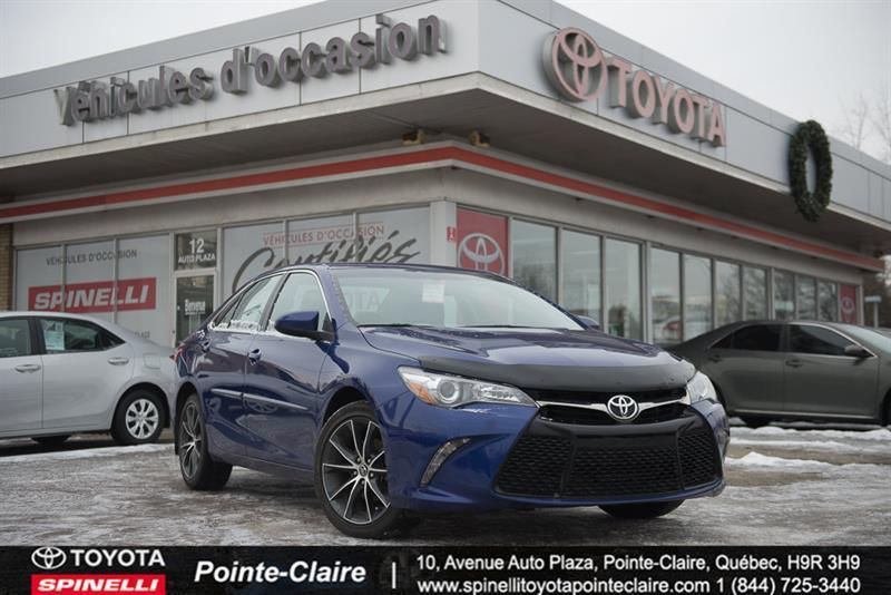 Toyota Pointe Claire >> 2015 Toyota Camry Xse Mags Toit Cuir Gps Used For Sale In
