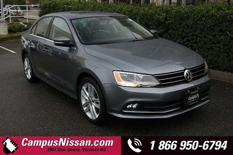2015 Volkswagen Jetta Sedan | Highline | FWD w/ Reverse Camera #8-P754A