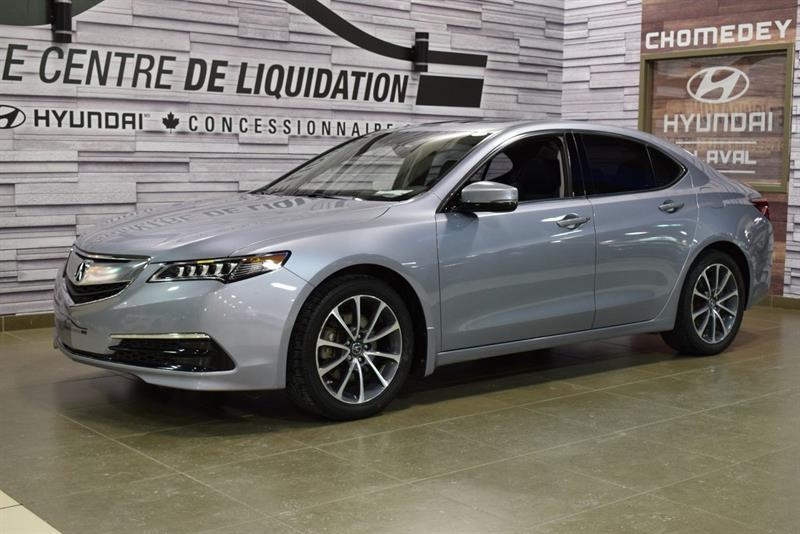 Acura TLX 2015 TECH+AWD+GPS+CUIR+TOIT+MAGS #S8832