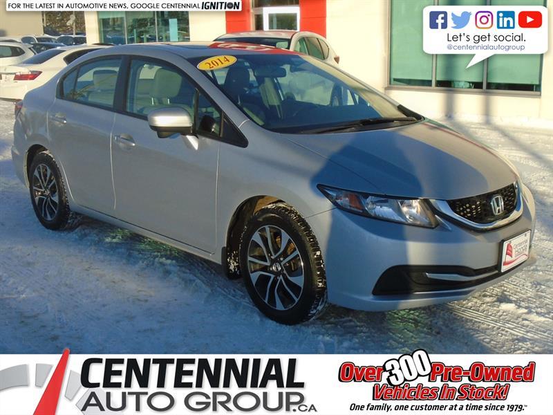 2014 Honda Civic Sedan EX | Bluetooth |  #9576B