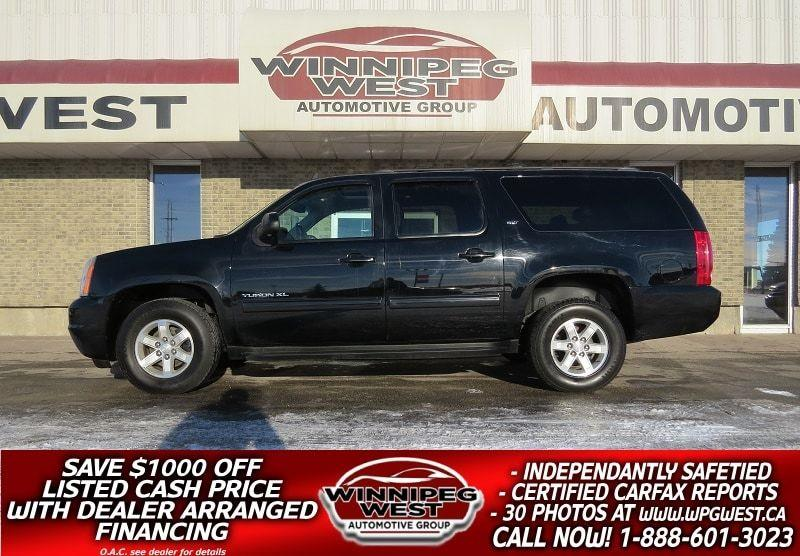 2014 GMC Yukon XL SLT 4X4, 8 PASS, LEATHER, SUNROOF, CLEAN!! #GNW4796