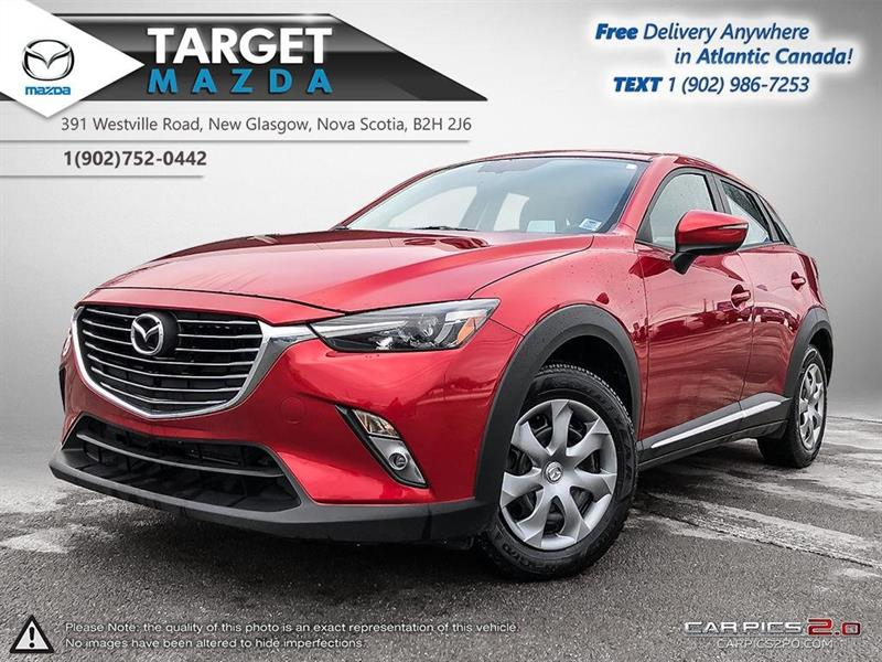 2016 Mazda CX-3 GT! AWD! BOSE STEREO! LEATHER! SUNROOF! 18'' RIMS! #U4011