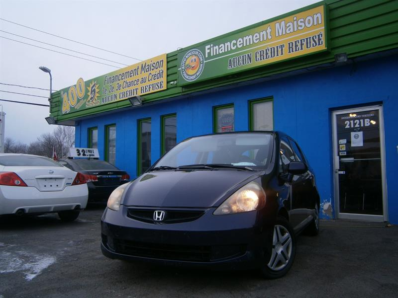 Honda Fit 2008 5dr HB Man #18-289